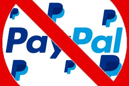 PayPal streicht Zahlungsmöglichkeit!