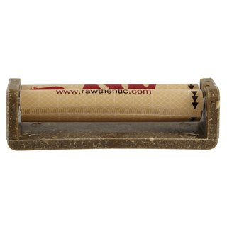 RAW Hemp Plastic Cigarette Roller 79mm