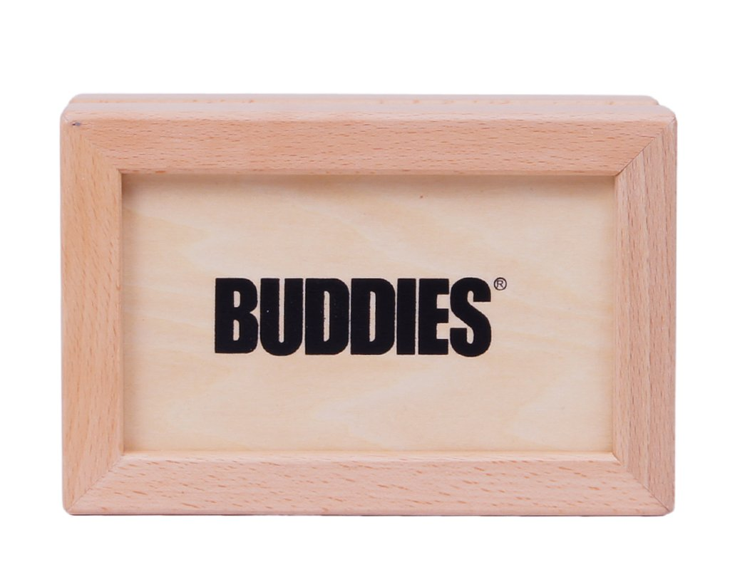 Buddies Wooden Sifter Pollen Box small