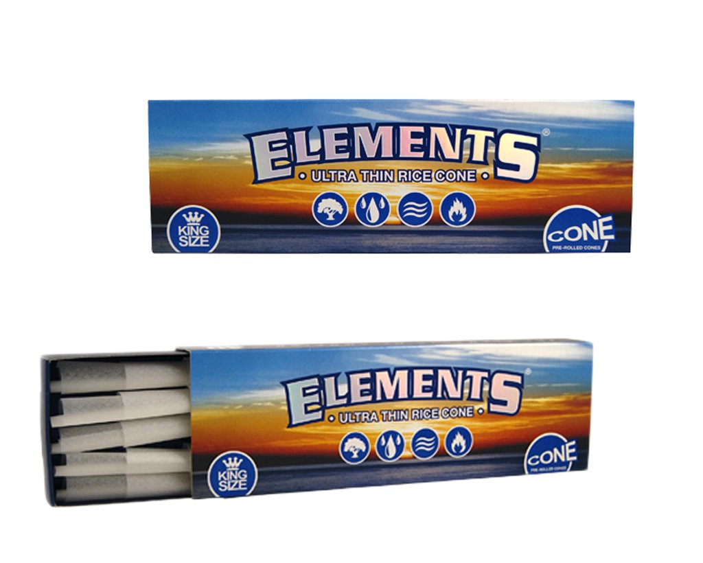 Elements Pre-Rolled Cones King Size 40-pack