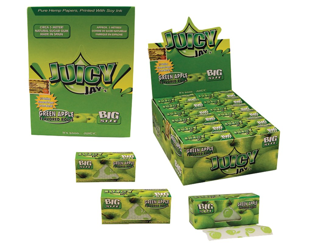 Juicy Jay´s Rolls King Size Green Apple
