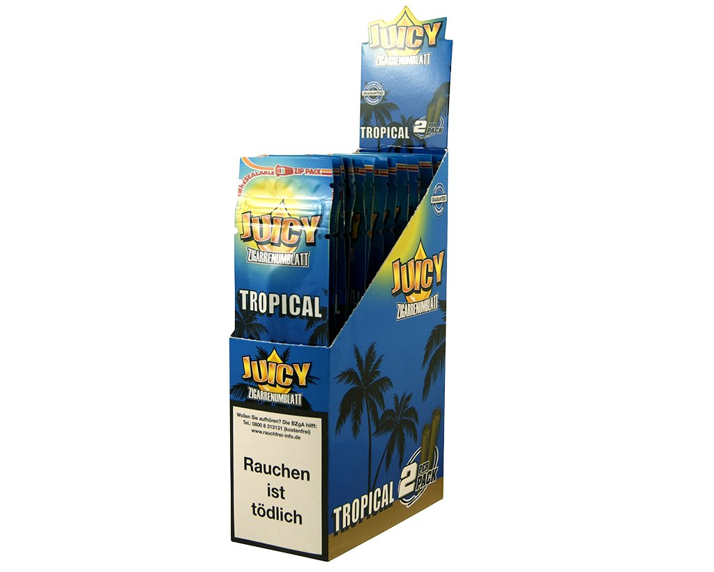 Juicy Jay´s Double Blunts - Tropical Passion