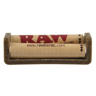 RAW Hemp Plastic Cigarette Roller 70mm