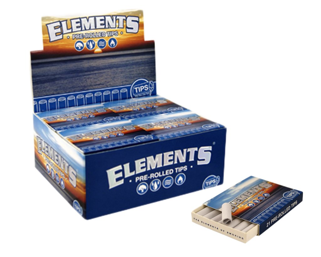 Elements Filter Tips Pre-Rolled