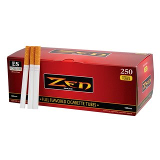 Zen Cigarette Tubes Full Flavor 100mm 250-pack
