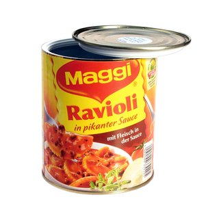 Stash Can Tin Maggi Ravioli