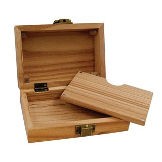 Raw Wooden Smokerbox