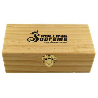 Rolling Supreme Wood Box Rolling Tray Small