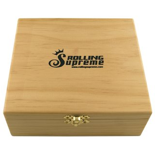 Rolling Supreme Wood Box Rolling Tray Large