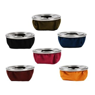 Sandbag Ashtray Alcantara 10,5cm - different Colours
