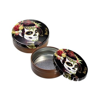 ClickClack Metal Box Mexican Skull