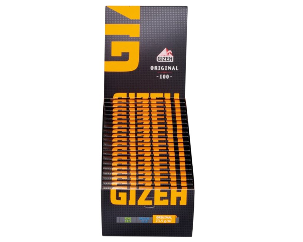 GIZEH Black Original Papers Regular 100er