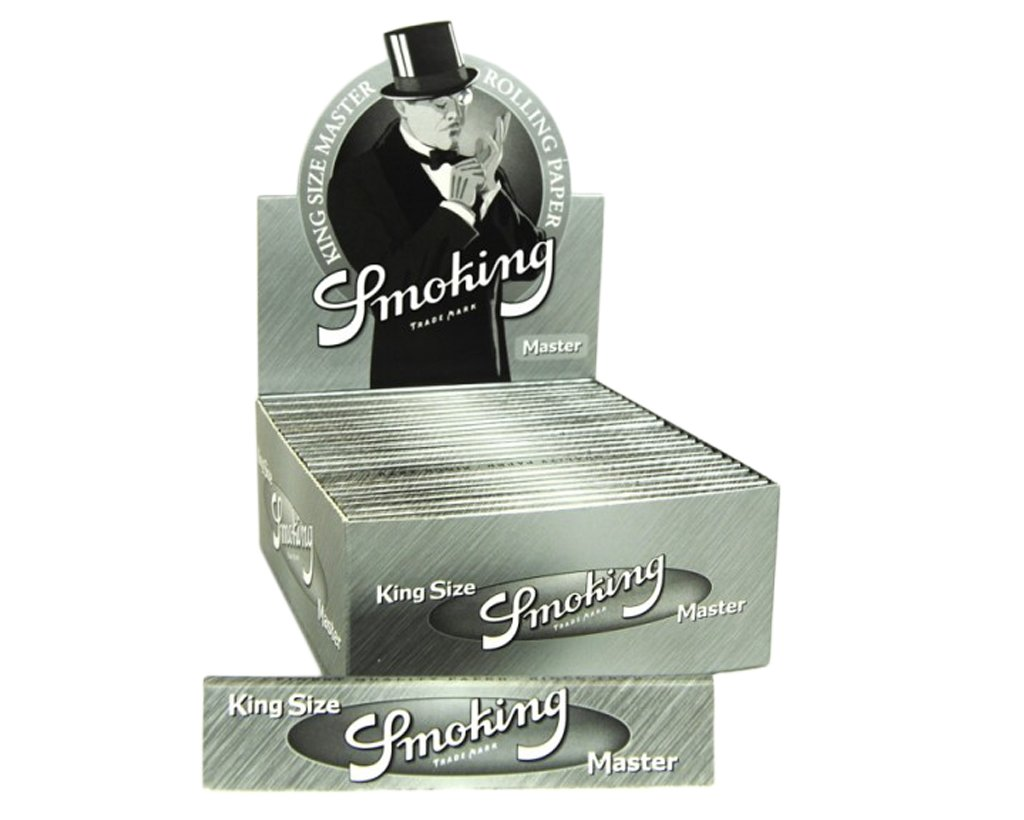 Smoking Papers King Size Master Silver