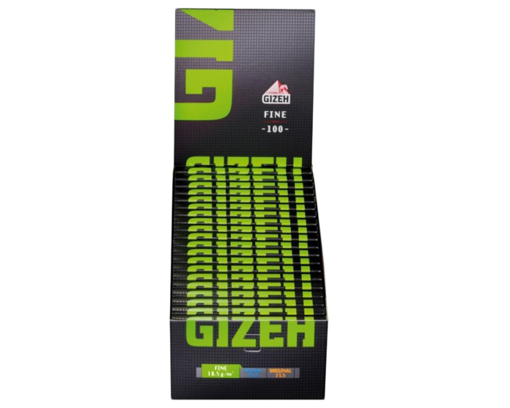 GIZEH Black Fine Regular 100er - 1 Box