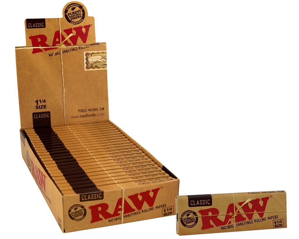 Raw Classic Papers 1 1/4 - 12 Heftchen