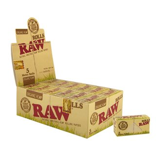 Raw Organic Rolls Slim - 12 Packungen