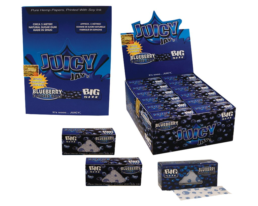 Juicy Jay´s Rolls King Size Blueberry - 6 Packungen