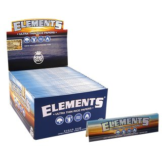 Elements Papers King Size - 25 Heftchen