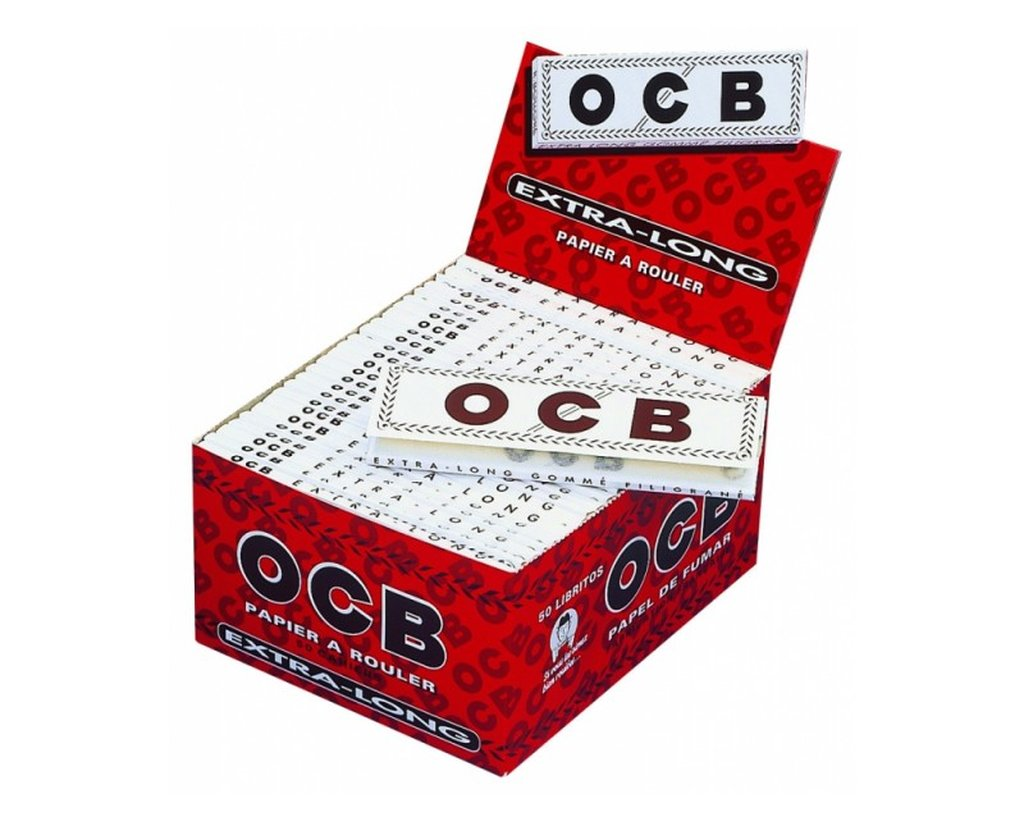 OCB Weiß Papers King Size - 3 Boxen