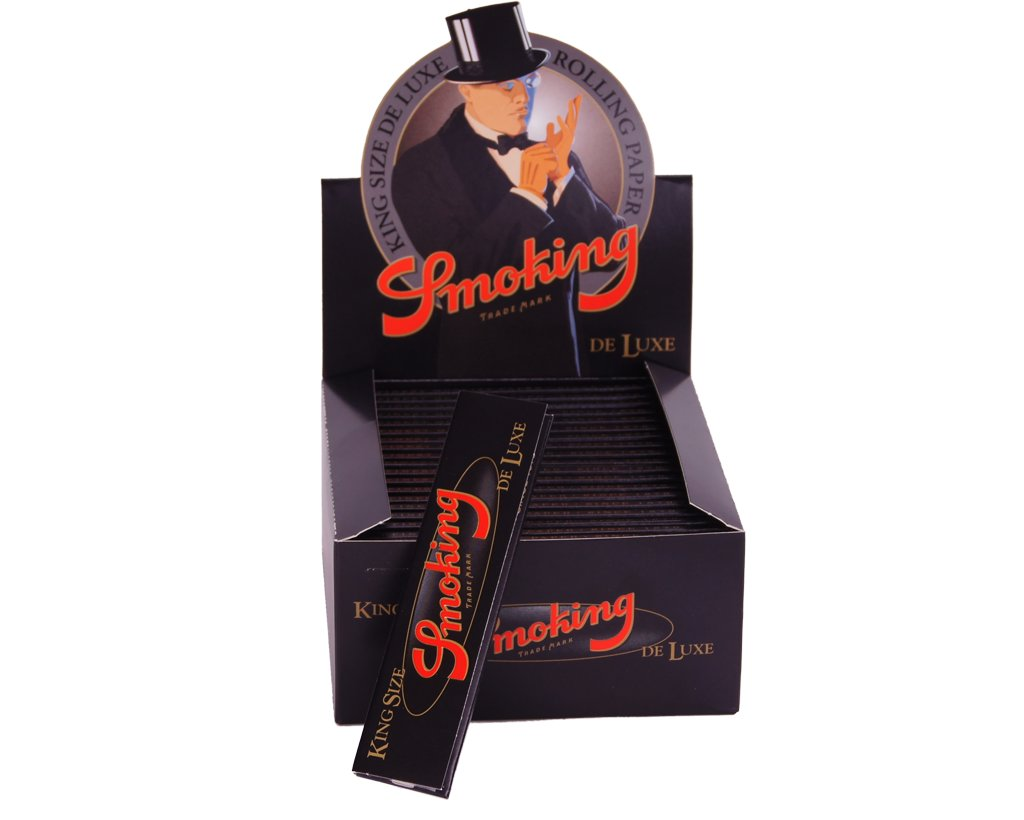 Smoking Papers King Size Deluxe Black - 2 Boxen