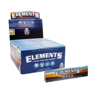 Elements Papers King Size Slim - 25 booklets
