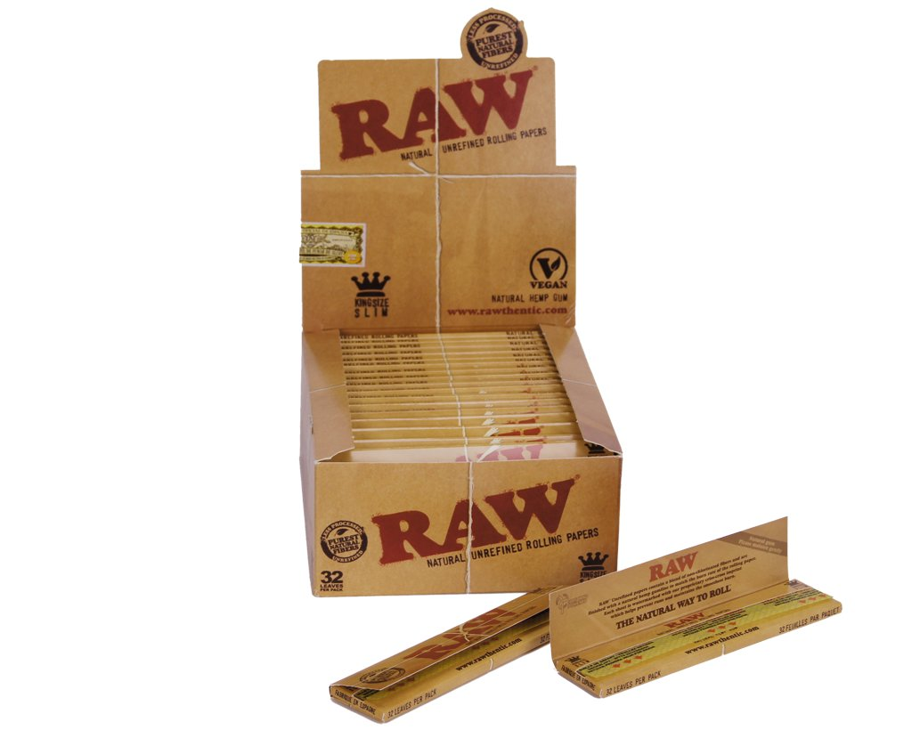Raw Classic Papers King Size Slim - 10 Heftchen