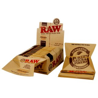 Raw Classic Artesano King Size Slim + Tips & Tray - 5...