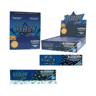 Juicy Jay´s King Size Slim Blueberry - 6 booklets