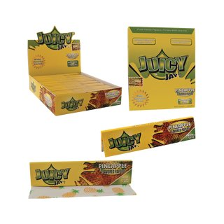 Juicy Jay´s King Size Slim Pineapple - 6 booklets