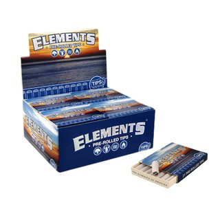 Elements Filter Tips Pre-Rolled - 10 packages