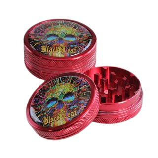 Black Leaf Alu Grinder Cyber Skull 50mm