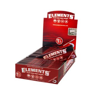 Elements Red Papers 1 1/4 - 5 Heftchen