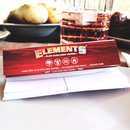 Elements Red Connoisseur King Size Slim + Tips - 1 Box