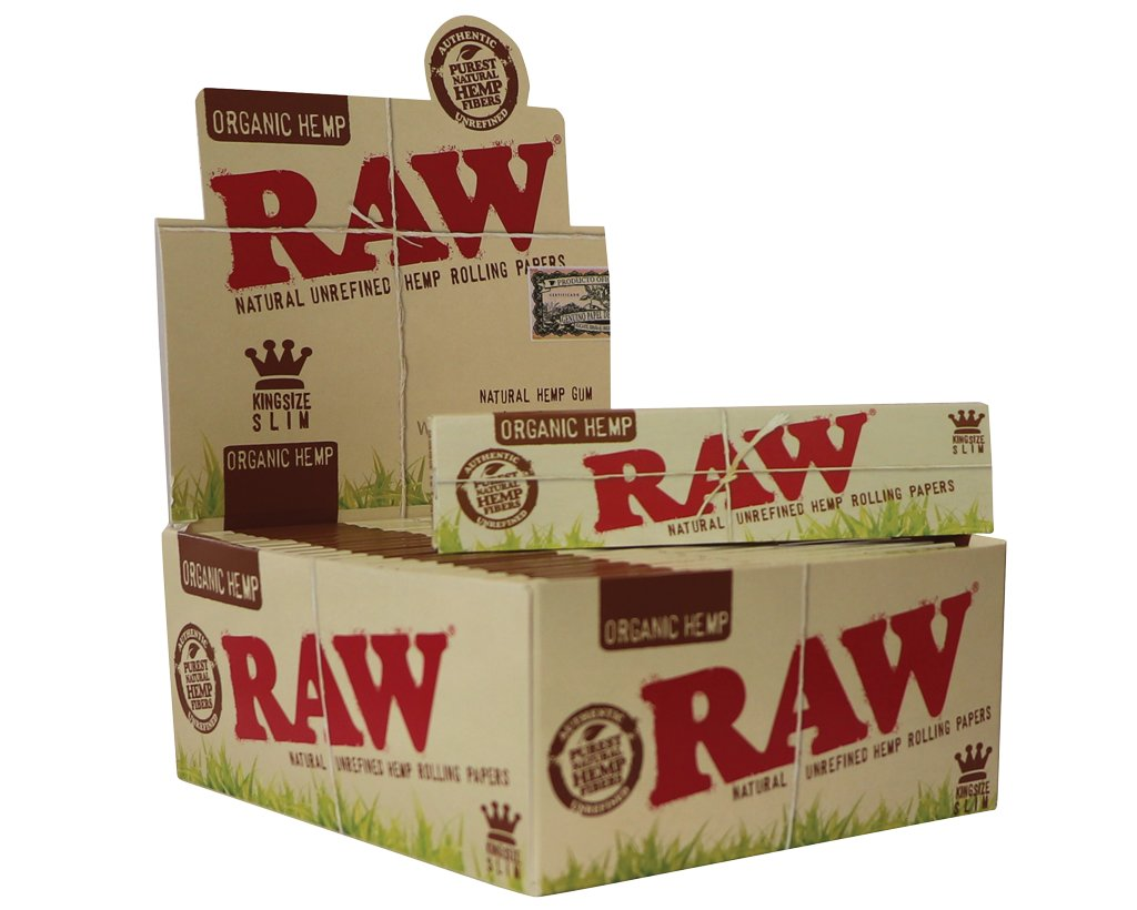 Raw Organic Papers King Size Slim