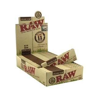 Raw Organic Papers 1 1/4 - 6 Heftchen