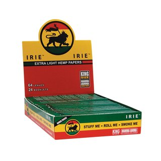 Irie Rasta Papers King Size - 6 Heftchen