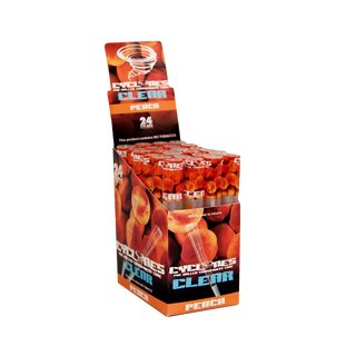 Cyclones Clear Blunts - Peach