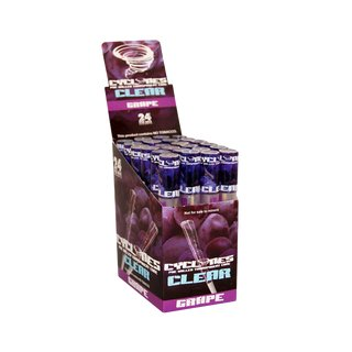 Cyclones Clear Blunts - Grape