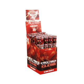 Cyclones Clear Blunts - Cherry