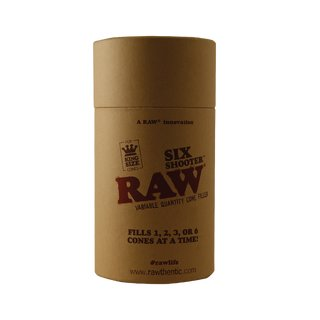 Raw Six Shooter für King Size Cones