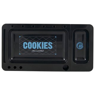 Cookies Rolling Tray Black 2-part 20 x 11,5cm