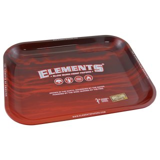 Elements Red Rolling Tray Medium 34 x 27,5cm