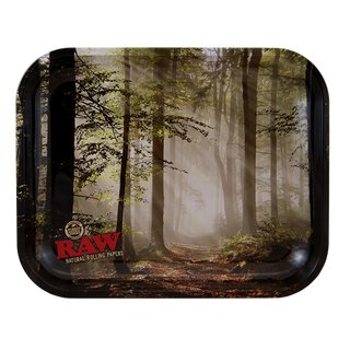 Raw Drehtablett Forest Medium 34 x 27,5cm
