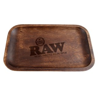 Raw Wooden Smokerbox small 27,5 x 17,5cm