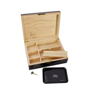 Weedor Wooden Rollbox with Piano lacquer