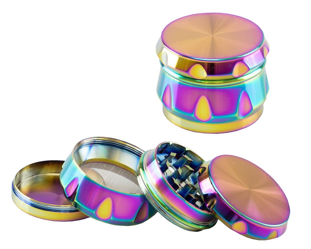 Crown Alu Siebgrinder Rainbow 41mm