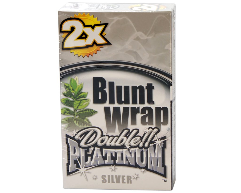 Blunt Wrap Double Blunts - Silver - Berries