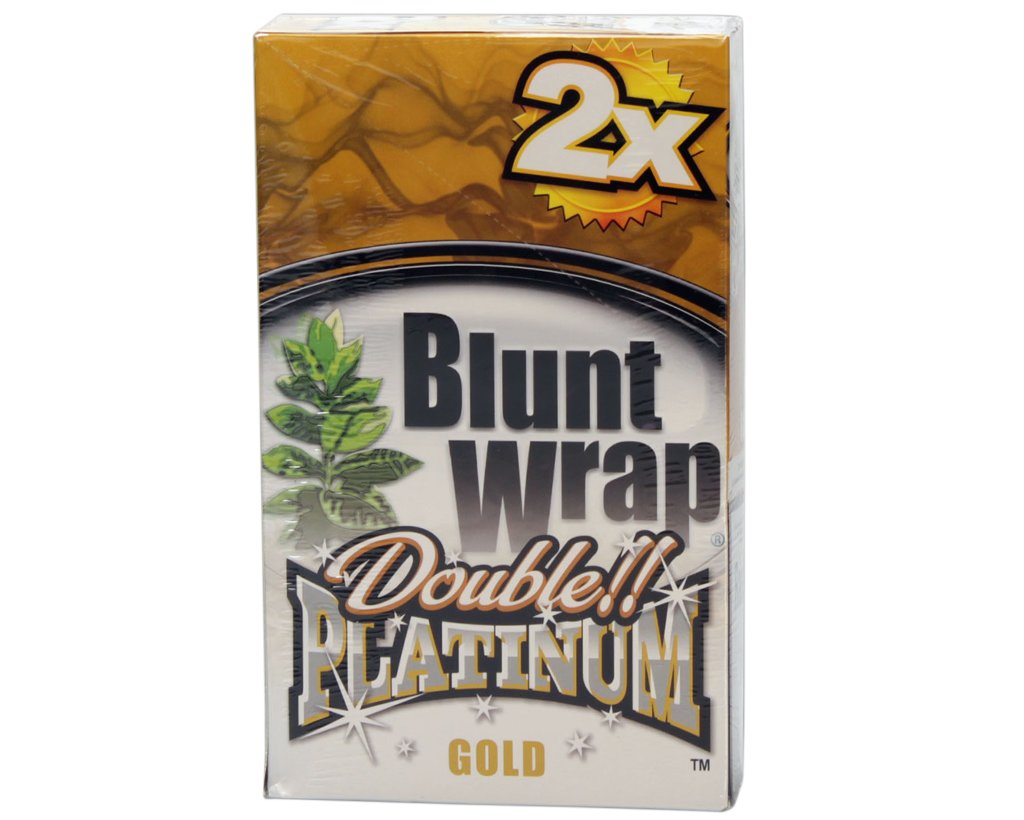 Blunt Wrap Double Blunts - Gold - Wild Honey