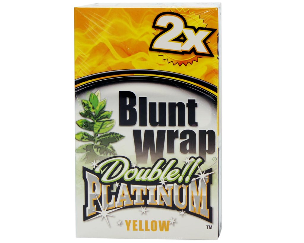 Blunt Wrap Double Blunts - Yellow - Mello Mango