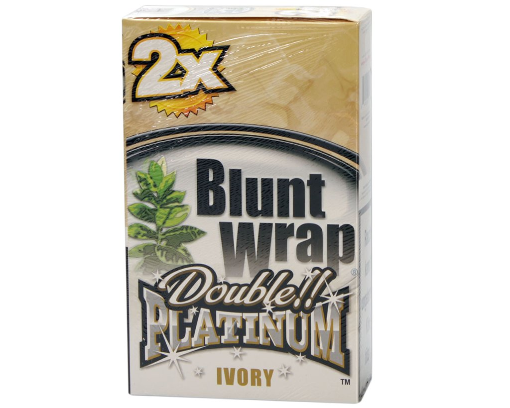 Blunt Wrap Double Blunts - Ivory - French Vanilla